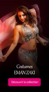 Eman Zaki costume danse orientale